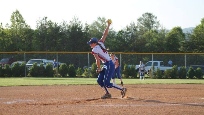 Hannah Jennings pitched in 17 of Madison's 25 wins last season, totaling 189 strikeouts.