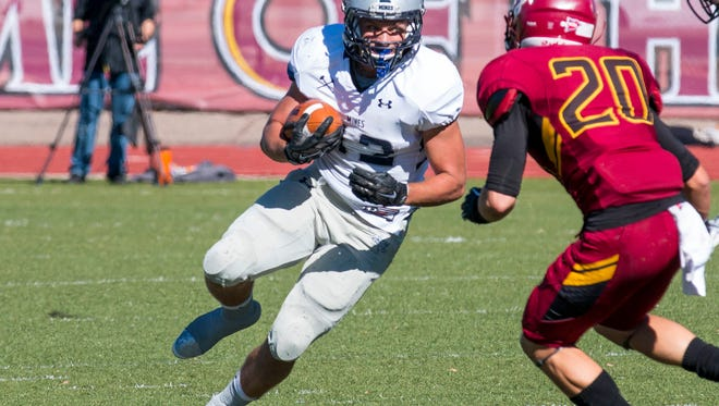 Fort Collins High School graduate Sam Seeton ran for 1,150 yards as the Colorado School of Mines went 8-3 in 2015.