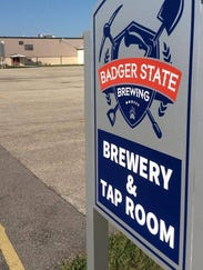 Badger State Brewing Outside