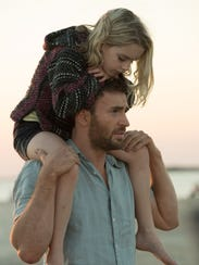 Frank (Chris Evans) tries to give Mary (Mckenna Grace)