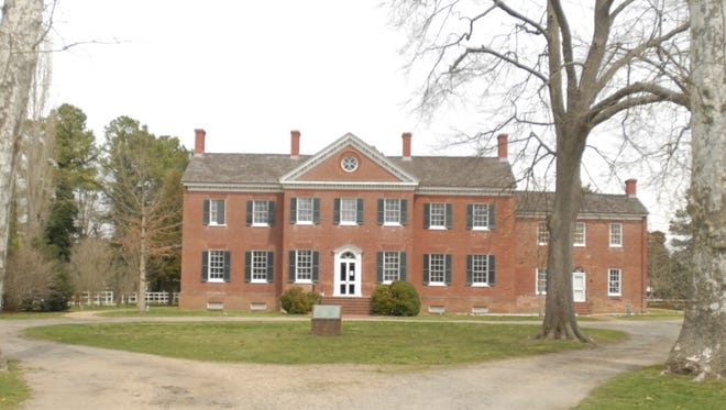 Ker Place in Onancock, Virginia is the headquarters of the Eastern Shore of Virginia Historical Society.