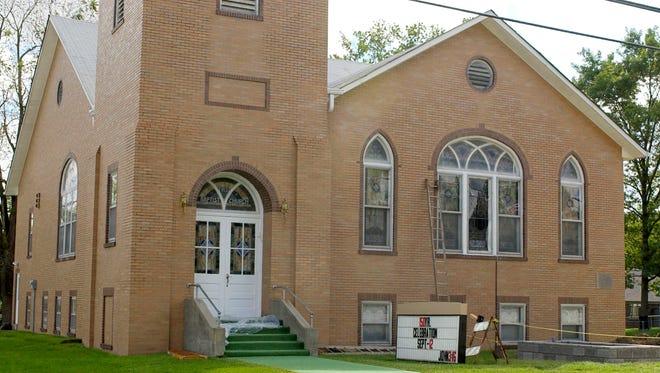 Clayton First Baptist Church in 2004