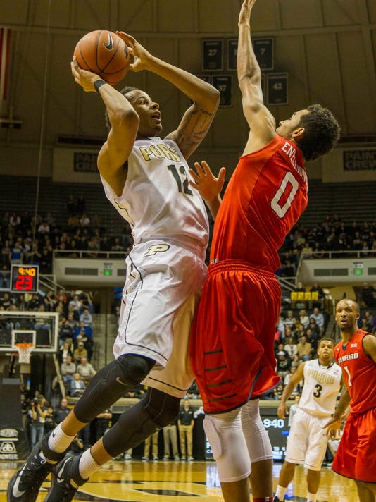 NCAA Basketball: Samford at Purdue