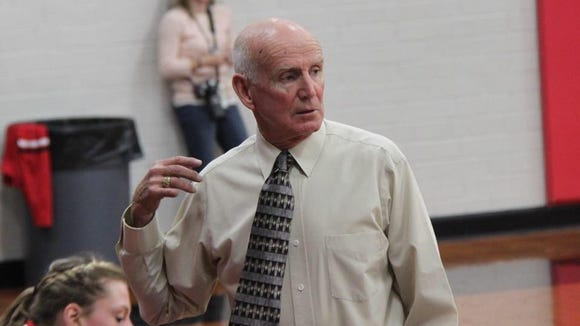Ken Solesbee has been a coach at Andrews since 1971.