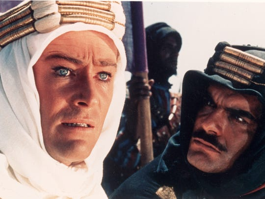 """From the 1962 movie """"Lawrence of Arabia."""" English officer T.E. Lawrence (Peter O'Toole) led the Arab revolt by promising """"Arabia for Arabians."""" The allies had different ideas."""
