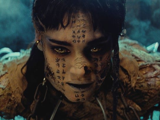 Sofia Boutella stars as the monstrous Ahmanet in 'The