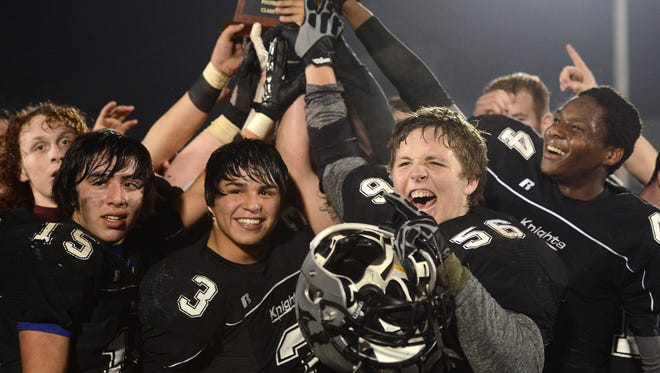 Robbinsville won the NCHSAA 1-A football championship on Friday with a 31-7 win over visiting Alleghany.