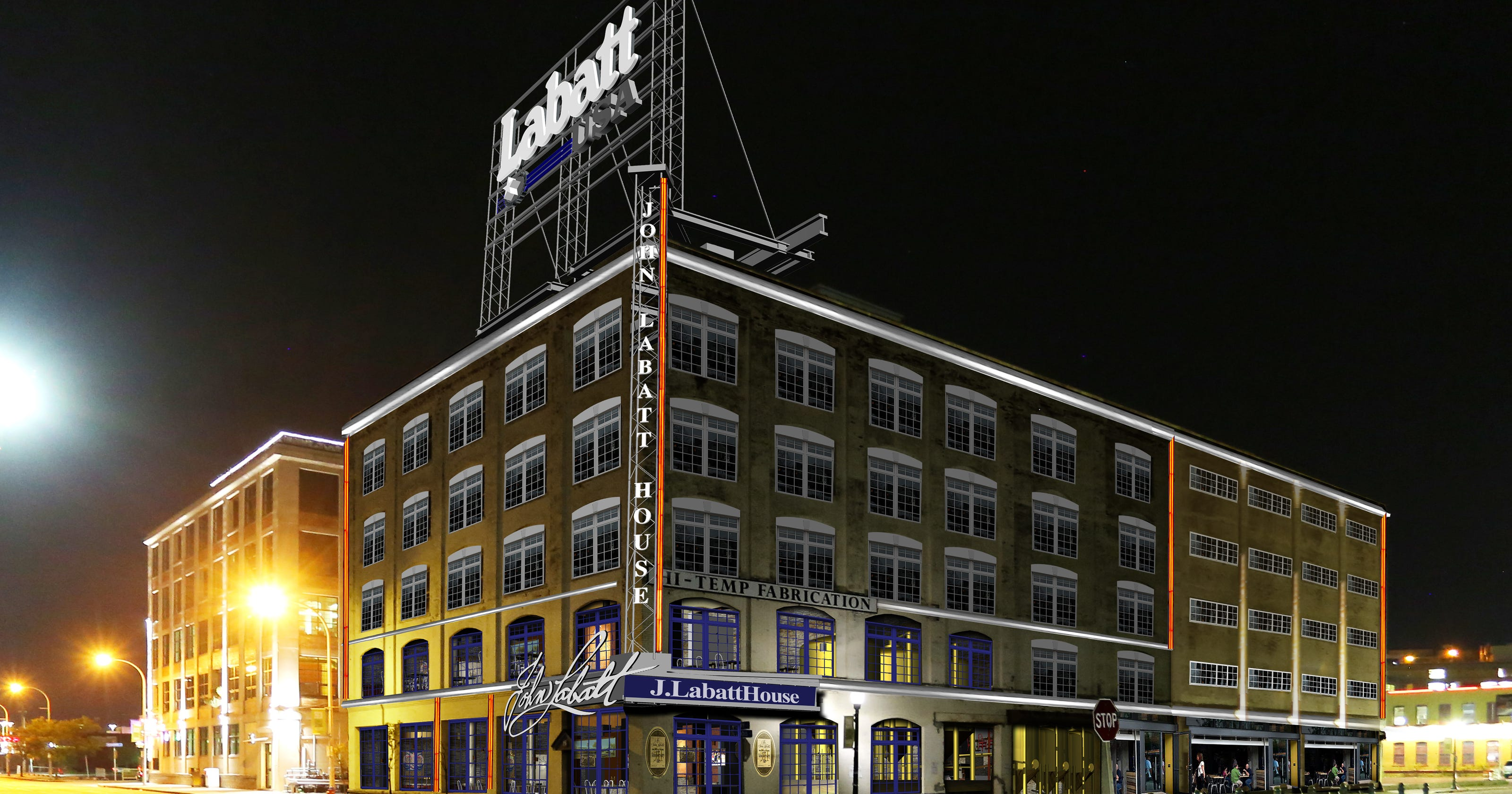 genesee brew house model planned for labatt in buffalo. Black Bedroom Furniture Sets. Home Design Ideas