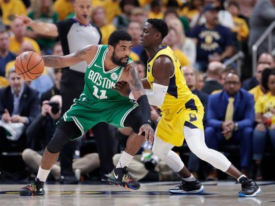Boston llevó a la 'escuelita' a Pacers de Indiana.