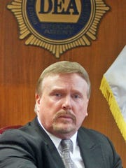 James Hunt, special agent in charge of the U.S. Drug