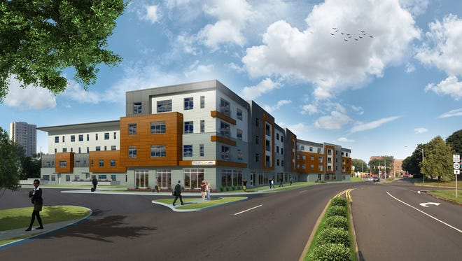 The proposed Wedgepoint development on South Avenue at Byron Street.