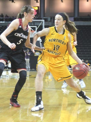 Christine Roush is 59 points away from joining NKU's all-time top 10.