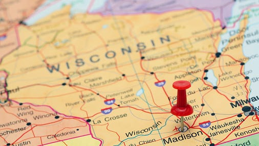 Redistricting in Wisconsin.