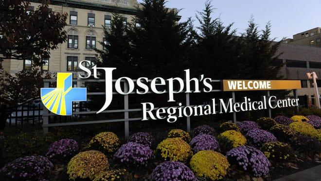 St. Joseph's Regional Medical Center on Main Street in Paterson.
