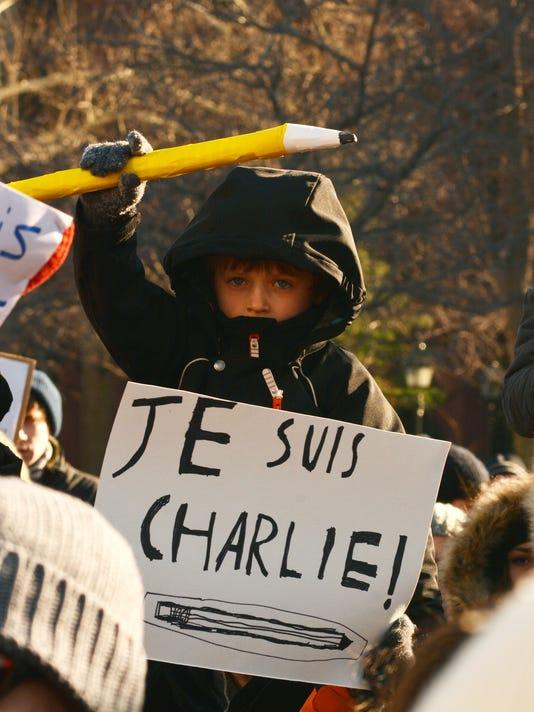 Je Suis Charlie Rally NYC