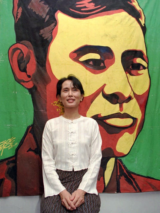 AP BURMA AUNG SAN SUU KYI I BUR
