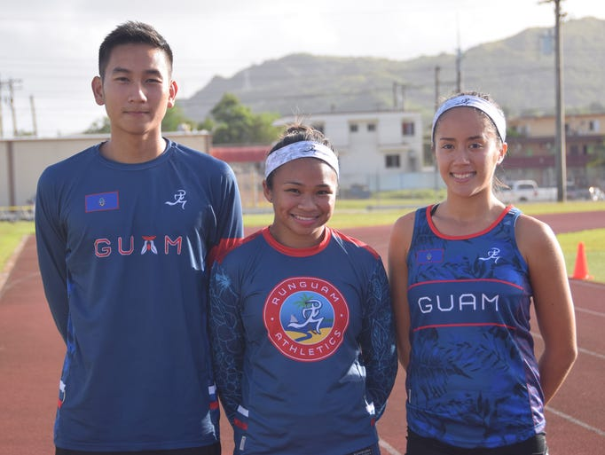 The Guam Athletics four member team will be representing