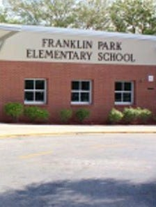 Franklin Park elementary school in Dunbar is one of two schools that would be rebuilt with proceeds of a proposed half-cent sales tax in Lee County