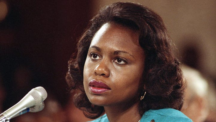 Female Democratic Senators are warning Republicans not to have a repeat of the past as the sexual assault allegations against Supreme Court nominee Brett Kavanaugh recall Anita Hill's accusations against Clarence Thomas in 1991. (Sept. 18)