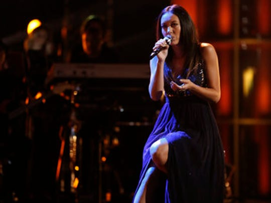 Amy Vachal performed in the Live Playoffs Monday and