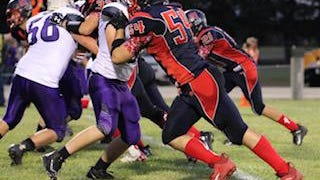 Clifton-Clyde and Jarik Weiche pulled out a 42-36 overtime win over Little River in a battle of ranked Eight-Man Division I teams on Friday.