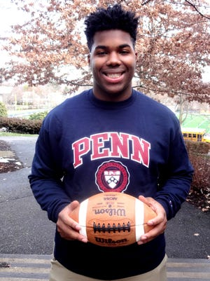 Montclair Kimberley defensive lineman Brian Bond received early acceptance at the University of Pennsylvania.