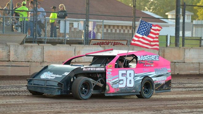 Marcus Yarie of Wausau finished the 2016 season as the points leader in his division at Shawano and Oshkosh. Yarie raced in a car he built himself.