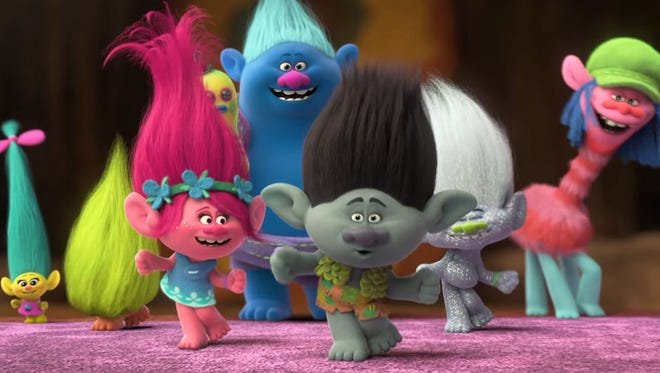 """March Movie Madness opens with """"Trolls"""" Monday at the Wichita Falls Activity Center."""