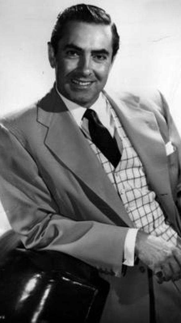 Tyrone Power 1955 Long Gray Line