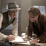 """Colin Firth and Jude Law in """"Genius."""""""