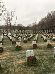 Wreaths Across America is a program that places wreaths