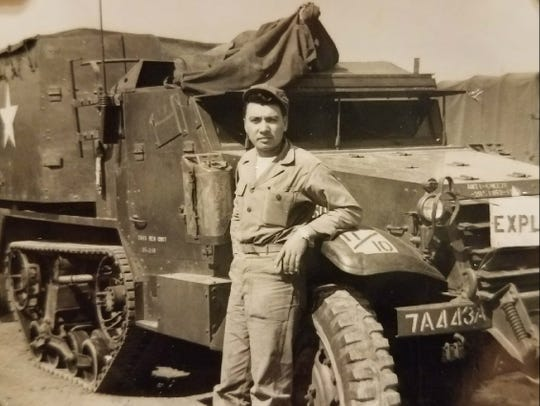 Reyes Castillo served with the Army during the Korean