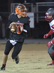 Chilhowie quarterback Zack Cale has over 1,800 yards