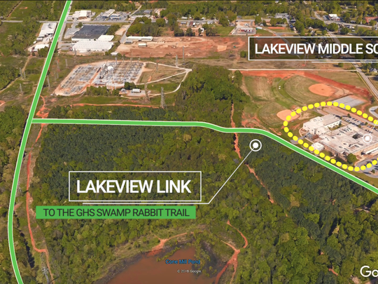 Lakeview Link is a proposed spur trail that would connect