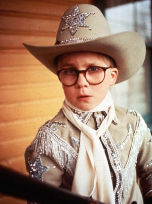 Peter Billingsley in a scene from the movie 'A Christmas Story.'