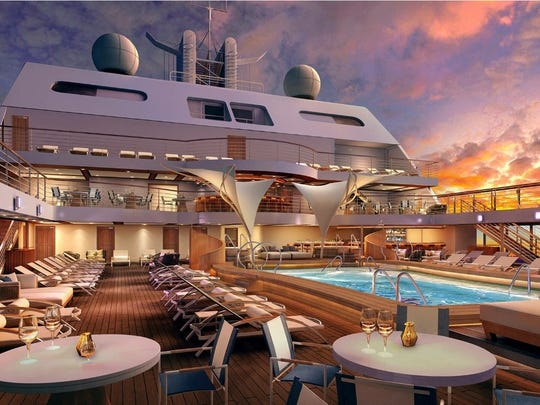 The new Seabourn Encore arrives in 2016.