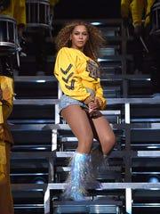 INDIO, CA - APRIL 14:  Beyonce Knowles performs onstage