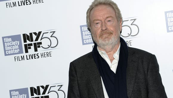 Ridley Scott knew about the running water on Mars two