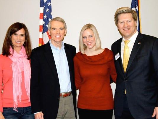 Senator Portman, Jane, Zac, Brittany.jpg
