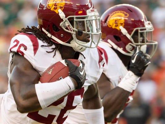 USC Player Saves Nephew Football