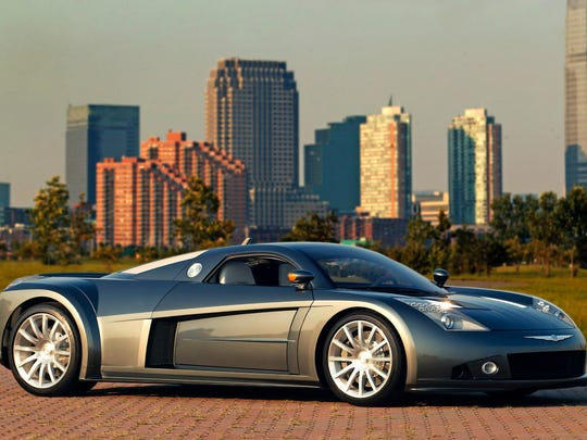 2004 Chrysler ME Four-Twelve concept car will  be on display at the Concours d'Elegance of America, July 30, 2017 at the Inn at St. John's, Plymouth.