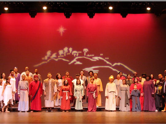 """Black Nativity"" at the Count Basie Center for the Arts."