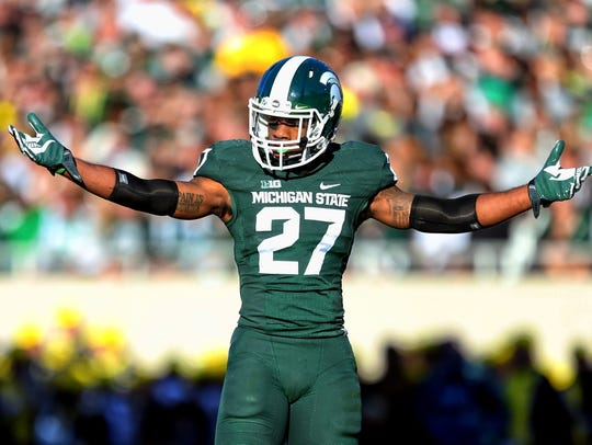 "Kurtis Drummond, a former member of MSU's ""No Fly Zone"""