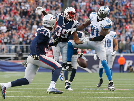 Detroit Lions v New England Patriots