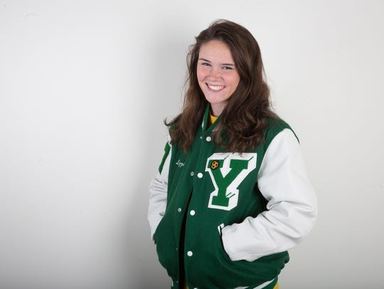 Yorktown's Lizzie Smith was selected as this years