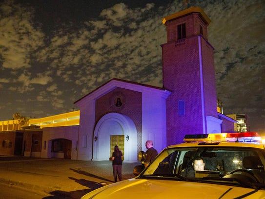 Gary Moran está acusado de matar un padre católico