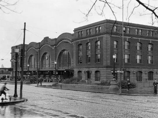The old station, known as the Bragdon Station, opened