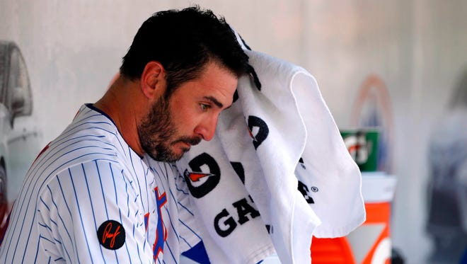 Matt Harvey finished his final season with the Mets in the bullpen, toting a 7.00 ERA.