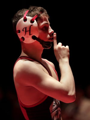 Hortonville's Eric Barnett is one of just 20 wrestlers in the state who have at least 20 wins and no losses entering the WIAA state individual wrestling tournament.