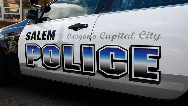Salem Police officers can be seen driving around in new cars and new logos.